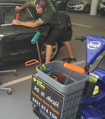 Mobile Paint & Dent Repairs - Brisbane - Car Clinic