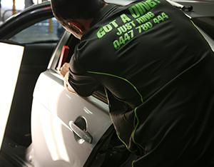 Mobile Paint & Dent Repairs - Brisbane - Paintless Dent Repairs