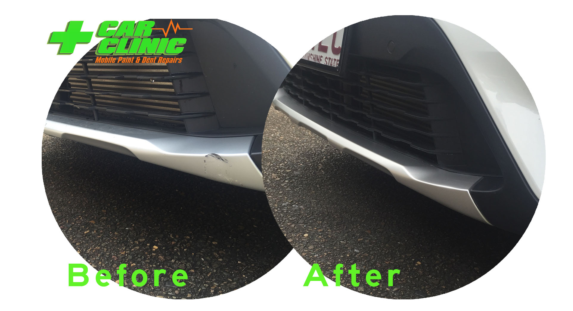 Mobile Paint & Dent Repairs - Brisbane - Before After Image 02