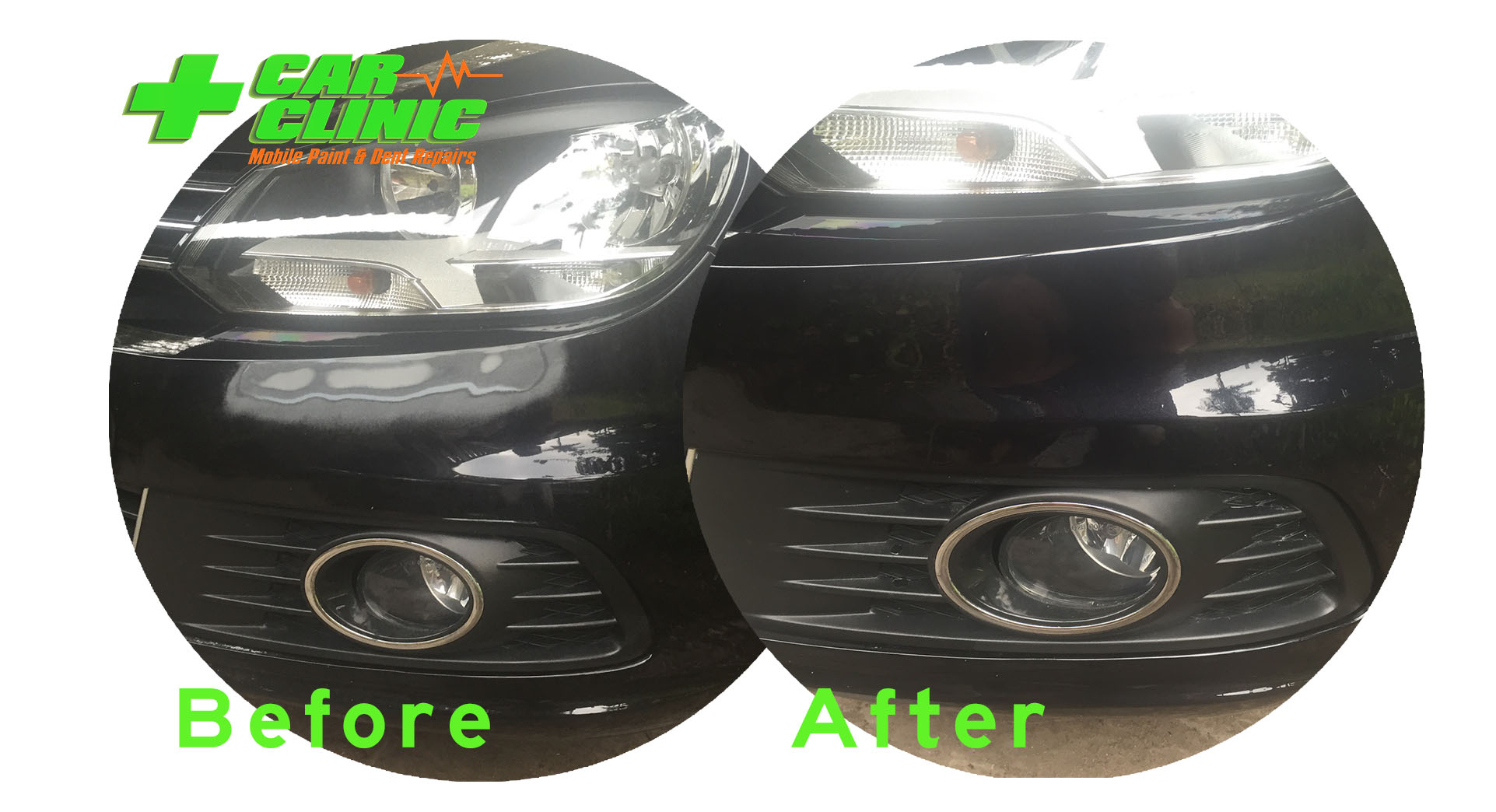 Mobile Paint & Dent Repairs - Brisbane - Before After Image 03