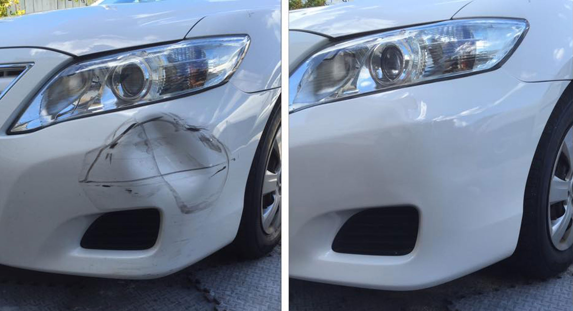 Mobile Paint & Dent Repairs - Brisbane - Before After Image 08